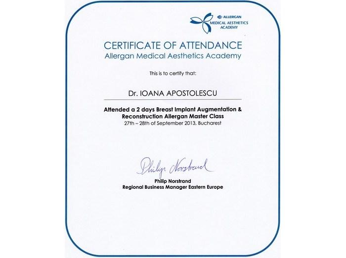 Diploma Alergan