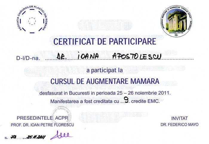 Diploma Augmentare