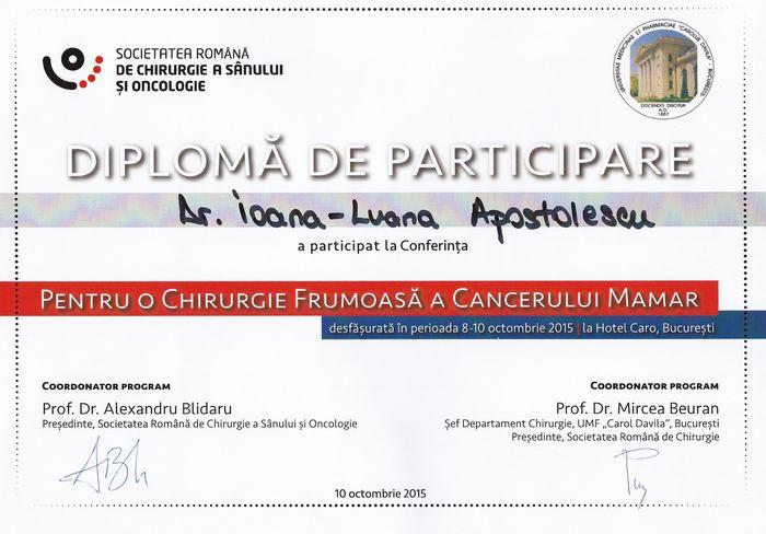 Diploma Chirurgie Generala