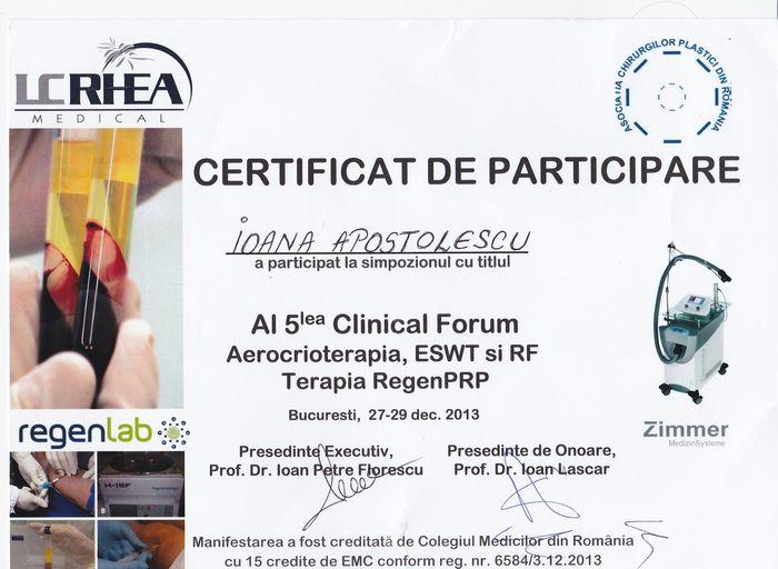 Diploma Crioterapie